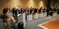 2018 Christmas Dinner and Dance Society Swing Band of Winston-Salem.