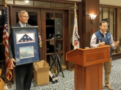 Chapter Meeting November 2018 John Cudar Flag Presentation